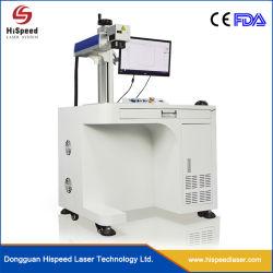 La máquina láser de fibra de láser de inscribir el marcador para Pen fabricado en China