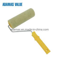 Spazzola a rullo in poliacrilico di dimensioni standard personalizzata con manico verioso