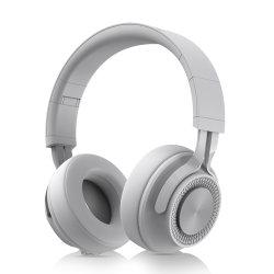 Auscultadores DJ profissionais sobre o ouvido do fone de ouvido Bluetooth