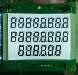 大きいサイズ886 PCBおよび白いLEDのバックライトが付いている7つのセグメント燃料ディスペンサーLCDの表示