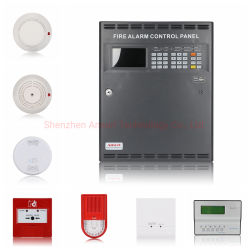 La detección de incendios analógica el sistema de alarma de seguridad contra incendios