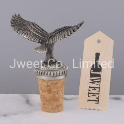 El Águila de metal decorativos de madera vino Tapón de botella de champán