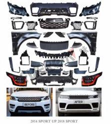 De Uitrustingen van het Lichaam van Facelifting voor de Sport 2014 van Range Rover tot 2018