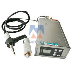 Auto Air-Cooling mano ultrasónico Digital tipo máquina de soldadura sistema para la soldadura de piezas de plástico