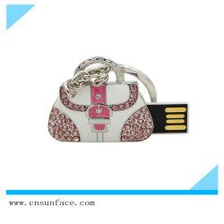 حقيبة مجوهرات بيع ساخنة شكل USB فلاش محرك 4 جيجا بايت 8 جيجا بايت حقيبة محرك أقراص USB