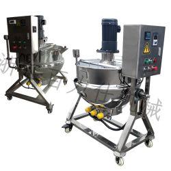 Gelatina rivestita del pino del riscaldamento elettrico d'acciaio popolare di industria della strumentazione della cucina del miscelatore della caldaia dell'acciaio inossidabile del latte che cucina POT da vendere