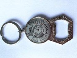 Оптовая торговля компас из металла Keychains сошника