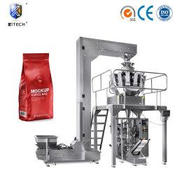 焼かれたコーヒー豆の自動ウェイティングおよび充填機のエスプレッソのブレンドのパッキング機械Kitech