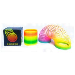 подарок для продвижения 6.5cm горячая продажа радуга игрушки пружины