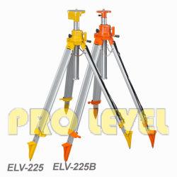 حامل ثلاثي القوائم دوار من الألومنيوم المتراكب القابل للارتفاع من المستوى إلى المستوى الذي يعمل بالليزر