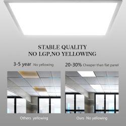 36W/40W/48 Вт 600X600, 1200x300мм 2X2FT 130 lm/W встраиваемый светильник акцентного освещения в помещении управления освещением с задней подсветкой LED потолочные панели с 3 года гарантии