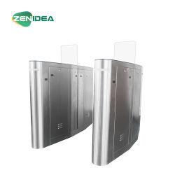 DCのブラシレスモーター回転木戸のゲートを滑らせるガラス滑走の回転木戸の高品質の完全な高さのガラス表面Recongnition