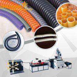 À paroi simple tuyau ondulé en plastique de la production de la machine