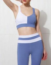 Женщин персик Hip-тренажерный зал для занятий йогой, Бюстгальтер+Sport Leggings одежду фитнес тренировки износа одежды