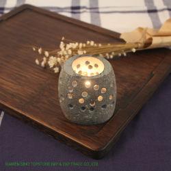 Оптовая торговля дома старинной китайской дешевые Custom камня держатель в форме свечи