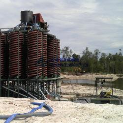 Magnétique en titane de haute qualité du minerai concentrateur en spirale