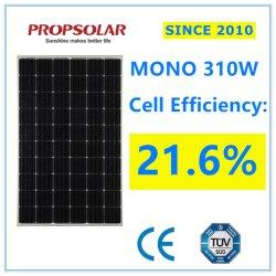 Ce, сертифицирована TUV высокое качество 310W солнечных фотоэлектрических модулей