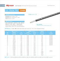 導線のためのUL 10486 RoHSワイヤーケーブルのテフロン家庭電化製品ワイヤー