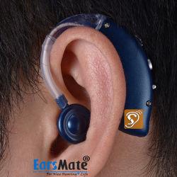 Новый аккумулятор Bluetooth слуховых аппаратов и беспроводные наушники для потери слуха и телевидение музыка