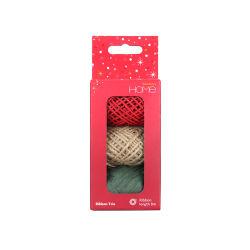 3pk papier naturel Raphia corde de coton