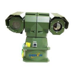 Double capteur robuste PTZ Caméra de vision de nuit