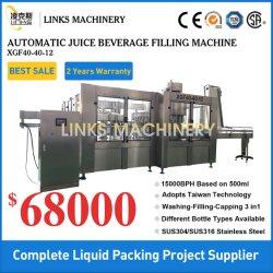 Automatisch van a aan Lijn van de Machine van de Productie van de Verpakking van het Sap van de Fles van de Drank van Z de Hete Vullende Vullende