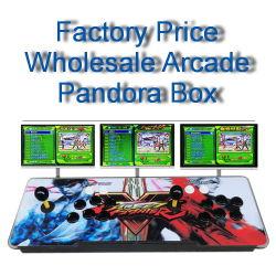 Utilisation de la famille de gros d'usine Joystick 2 Joueurs Console Arcase 999 dans 1