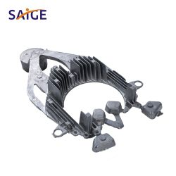 Metallo ad alta pressione su ordinazione dei pezzi meccanici il grande la pressofusione
