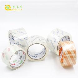 Super nítida conduta impermeável BOPP embalagem transparente fita adesiva PVC Fita Industrial