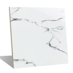 Фошань первый выбор ванной природных Cararra белого мрамора в полной мере полированного стекла остеклованные керамические фарфоровые стены пол керамическая плитка