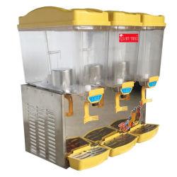 3 tanques de aço inoxidável congelados comercial bebida fria Sorvete dispensador de sumo de bebidas