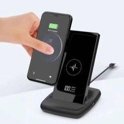 2019 новых 1000Мач телефон банка функция Multi- 5в1 беспроводной док-питания зарядного устройства зарядное устройство