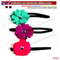 Детский волос украшения для волос полоса с цветами на день рождения подарок детского шоу малыша (P1016)