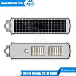 LED solaire intégré Ukisolar Jardin Système d'éclairage de rue avec Turbine vertical du vent