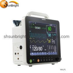 Высокое разрешение, переносной монитор пациента Мини
