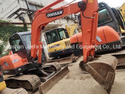 Usado Doosan 6 ton Dh60-7 miniescavadora Esteira Hidráulica Digger o Condicionador de Ar