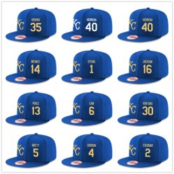 Kansas City Royals Coleção autêntica equipado Hat Boné