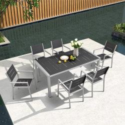 Patio-Speisetisch-und Stuhl-Möbel-im Freienfreizeit-Tisch