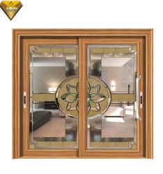 Porte coulissante en aluminium résidentiel personnalisé pour le projet avec un rabais de gros et de