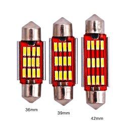 39/41Evitek 31/36/мм светодиодная лампа для поверхностного монтажа 4014-12пальчикового типа Canbus автомобильная светодиодная лампа для чтения освещение, Фонарь двери, потолочный фонарь, задний фонарь
