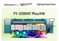 Infiniti Challenger 3,2 mètres solvant imprimante numérique grand format de l'AF-3200at plus H6 avec tête d'impression industrielle SPT 1024