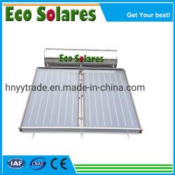 Edelstahl-flache Platten-Solarwarmwasserbereiter mit intelligentem Controller