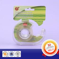 달팽이 절단기 걸이 카드를 가진 문구용품 테이프