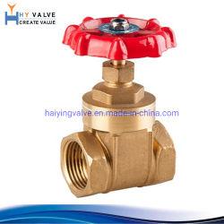 Comercio al por mayor de 1/2 a 6 pulgadas fecha de entrega cortos latón forjado Válvula de compuerta de agua