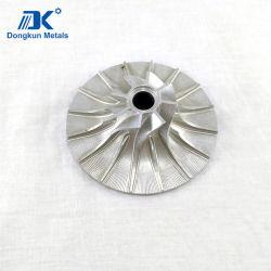 Soem-Fabrik-hohe Präzisions-Aluminiummaschinell bearbeitenleitschaufel-Rad