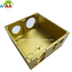 Fraisage CNC Boîtier en aluminium anodisé boîte pour les Pilotes Automatiques radar de marine