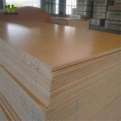 Los muebles de madera contrachapada de melamina de grado con suelos de madera de álamo/Core para Archivadores