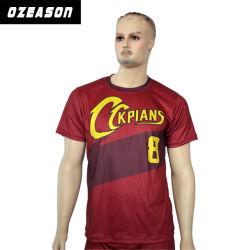 Camicia poco costosa di gioco del calcio della Jersey di calcio di prezzi di sublimazione su ordinazione dei 2018 commerci all'ingrosso