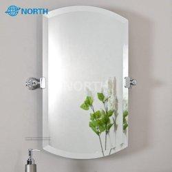 Silberner Spiegel, Badezimmerspiegel, Dekoratives Spiegelglas