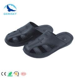 Proteger los dedos de PU antideslizante Industrial ESD de cuero Zapatos de seguridad